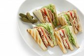 club sandwich , clubhouse Sandwich