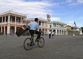 boy on bike Granada Nicaragua