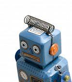 retro robot brinquedos