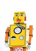 Retro robot juguetes