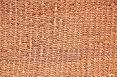 Homespun brown wool textile background �?�¢�?�?�?�? traditional Berber material