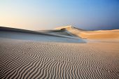 Sand dunes of Socotra Island
