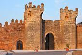 Chellah - roman buildings in Morocco, Rabat