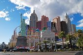 LAS VEGAS, NV - MAR 4:  The Las Vegas Strip is 3.8 mile stretch featured with world class hotels and