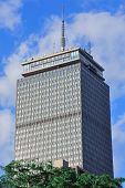 BOSTON, MA - 20 de JUN: Prudential Tower closeup, em 20 de junho de 2011, em Boston, Massachusetts. Prudencial