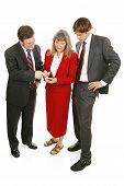 Mercado de verificações de equipe de empresas