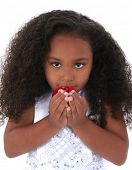 picture of black curly hair  - Six year old girl with beautiful long curly black hair - JPG