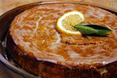 Glazed Dessert Cake