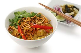 foto of thai food  - khao soi  - JPG