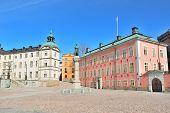 Stockholm. Birger Jarl Square