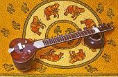 Sitar of India