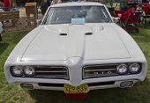 1969 Pontiac Gto Front View