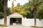 Entry Private Tennis Club  Carthage Tunisia
