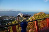 Binocular At Lookout