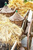 Autumn Wooden Cart
