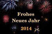 Frohes Neues Jahr 2014 (deutsch/german)