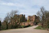 Kenilworth Castle Ruins in Warwickshire, United Kingdom poster