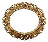 Oval Gilded Frame