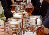 Beer At Munich Oktoberfest