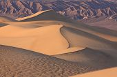 Death Valley is a desert valley located in Eastern California