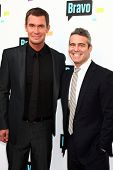 LOS ANGELES - MAY 22:  Jeff Lewis and Andy Cohen arrive at the Bravo Media's 2013 For Your Considera