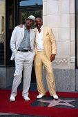 LOS ANGELES - MAY 13:  Samuel L. Jackson, Steve Harvey at the Steve Harvey Hollywood Walk of Fame St