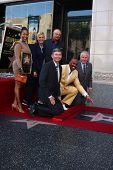 LOS ANGELES - MAY 13 Marjorie Harvey, Ellen DeGeneres, Dr. Phil McGraw; Leron Gubler, Steve Harvey,