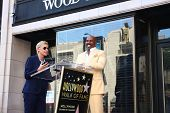 LOS ANGELES - MAY 13:  Ellen DeGeneres, Steve Harvey at the Steve Harvey Hollywood Walk of Fame Star