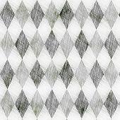 Grunge Check Drawing Pattern
