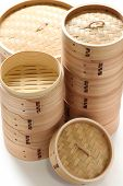 bamboo steamer set, chinese kitchenware