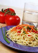 Fresh Noodle Plate