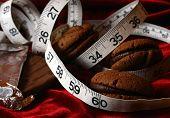 Chocolate Cookies Dieting Temptation
