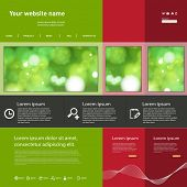Website Template, easy editable