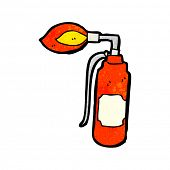 cartoon blowtorch