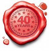 forty years experience 40 year of specialized expertise top expert specialist best service guarantee