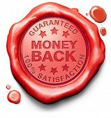 money back guaranteed 100% satisfaction customer service