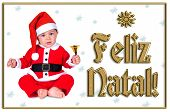 Cute Christmas Baby, Feliz Natal