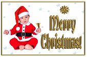 Cute Christmas Baby,  Merry Christmas