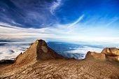 St. John's Peak At Mount Kinabalu