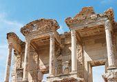 Library Of Celsus In Ephesus, Selcuk, Turkey.
