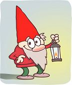 Gnome With Lamp