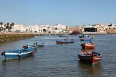 Fishing Boats In Rabat, Morocco