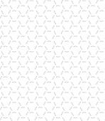 Seamless Pattern On White