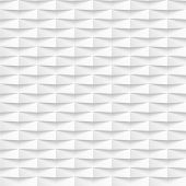 White seamless texture with shadow. Simple clean background texture. 3D Vector interior wall panel pattern.