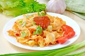 Pasta With Ketchup And Tomatoes