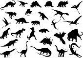 Dinosaurios de Vector