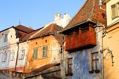 pic of sibiu  - Architectural detail of Sibiu - JPG