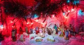Jesus Is Born Decoration - Christmas  Scene Of Bethlehem Religious Miracle