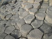image of reino  - Columnas de basalto de la calzada de los gigantes de Irlanda del Norte - JPG