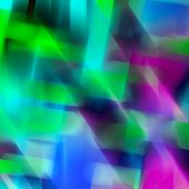 Abstract Geometrical Bright Multicolor Holiday Background